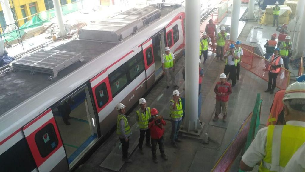 LRT Jakarta Diresmikan 10 Agustus
