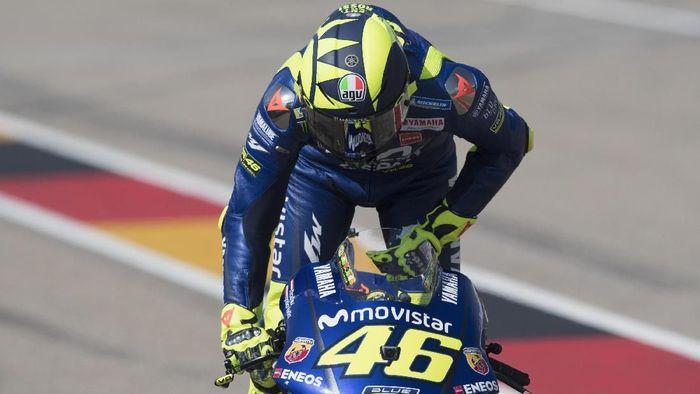 Valentino Rossi akan start dari posisi keenam di MotoGP Jerman (Foto: Mirco Lazzari gp/Getty Images)