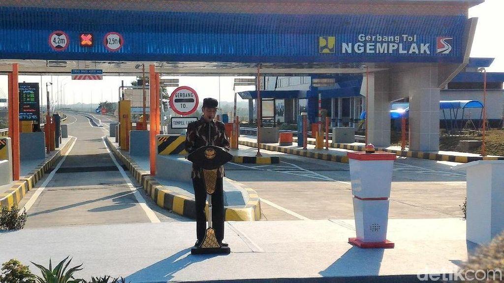 Jokowi Minta Rest Area Jalan Tol Tidak Diisi Merek Asing