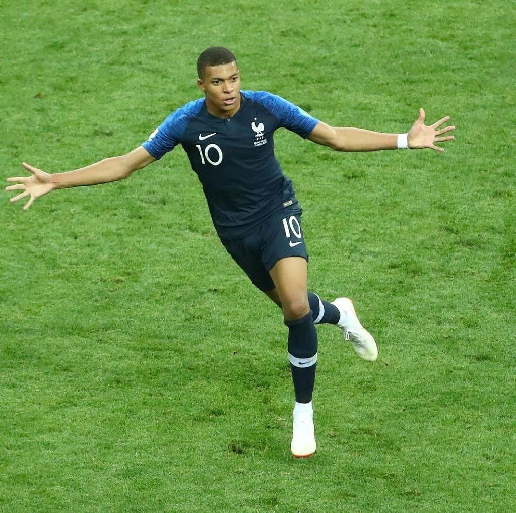 Bawa Prancis Juara Dunia, Mbappe Samai Pele
