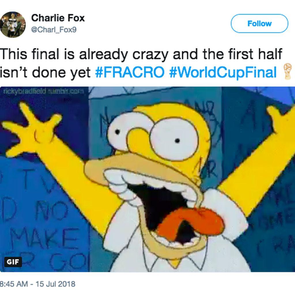 Final Piala Dunia Menegangkan Laris Jadi Bahan Meme