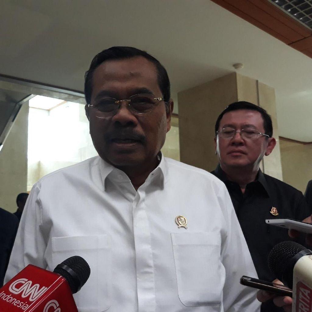 Jaksa Agung Rapat dengan Komisi III DPR, Bahas Evaluasi Kinerja