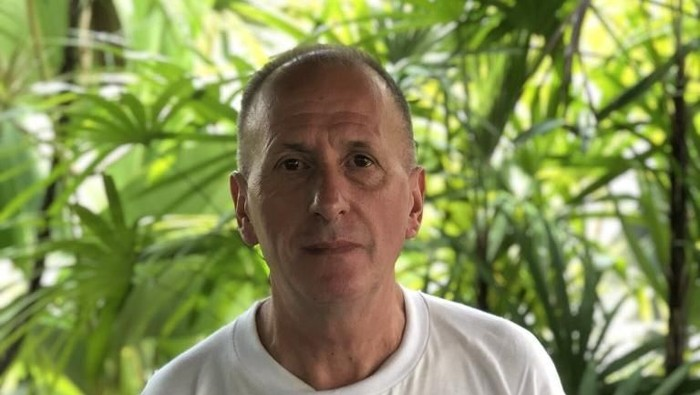 Vern Unsworth, penyelam dan ahli gua asal Inggris. Foto: Twitter/bexwright1