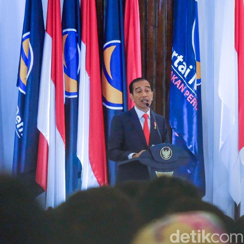 Jokowi: Korupsi hingga Perang Dagang AS-China Jadi Ancaman Kita