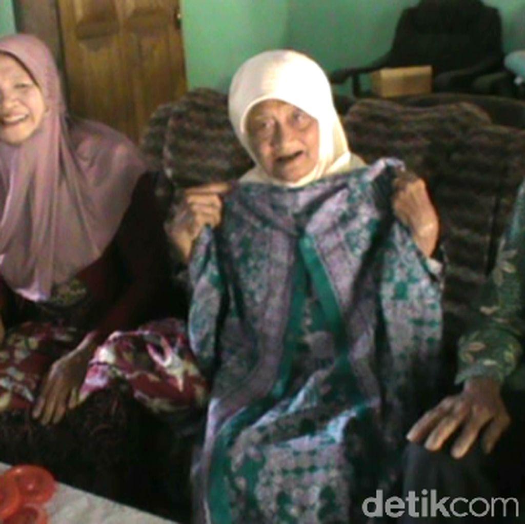Haji Bersama, Anak Nenek Penjual Bunga Kenanga: Semangatnya Luar Biasa