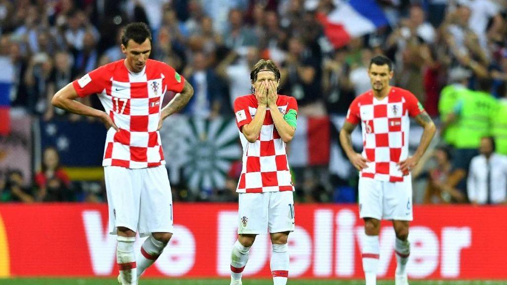 Duka Kroasia Gagal Juara Dunia