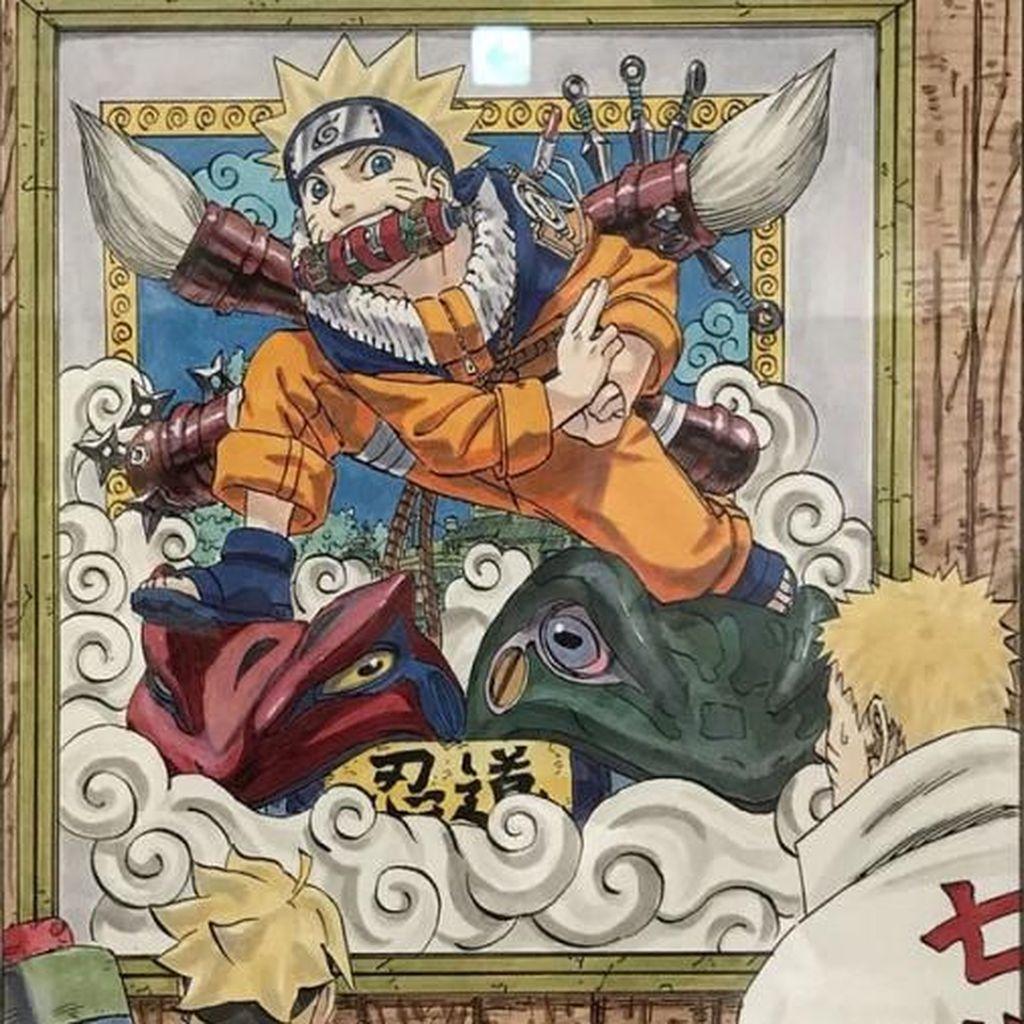 Mural Masa Lalu Naruto Bikin Kaget Boruto di Sampul Terbaru