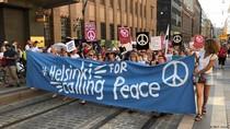 Gelombang Protes Sambut Pertemuan Trump dan Putin di Helsinki