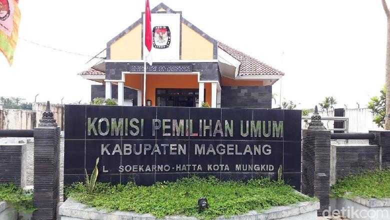 Baru Dua Parpol Daftarkan Bacaleg ke KPU Kabupaten Magelang
