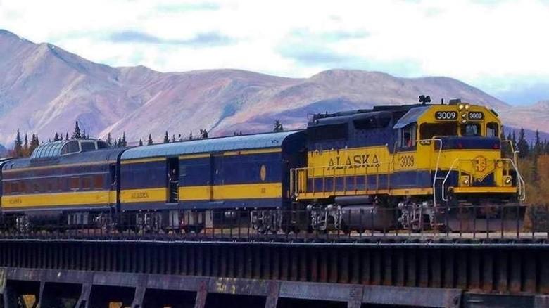 Kereta The Hurricane di Alaska (dok. Alaskan Railroad)