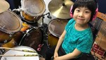 Alsa, si Drummer Cantik
