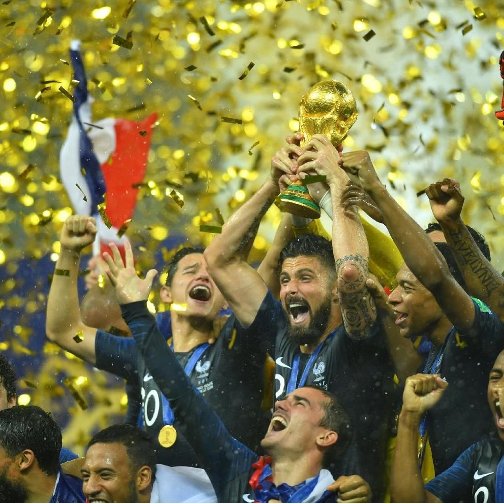 Prancis Kini Nomor Satu Dunia