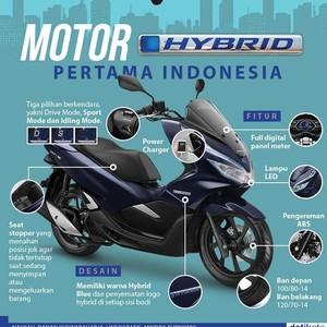 Motor Hybrid Pertama Indonesia