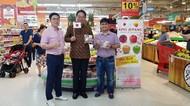 Gubernur Yamanashi Kunjungi Gerai Carrefour, Ada Apa?