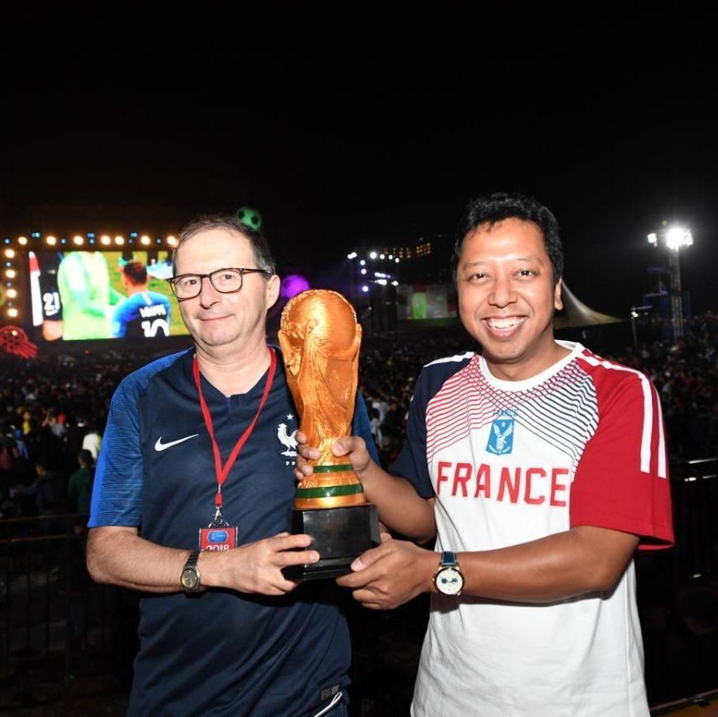Rommy Kagumi Kecepatan Mbappe dan Pogba di Final Piala Dunia