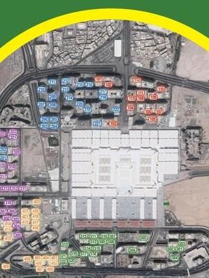 Peta Akomodasi Jemaah Haji Indonesia