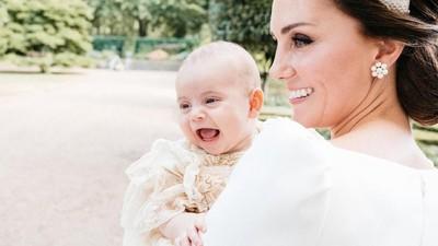 Kate Middleton Kewalahan Kejar Pangeran Louis yang Belajar Jalan