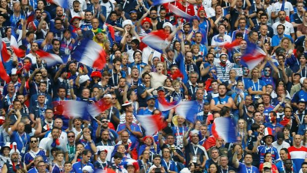 Prancis memenangi gelar Piala Dunia kedua dengan mengalahkan Kroasia.