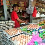 Kementan Sebut Penyakit Koksi Bikin Harga Telur Naik