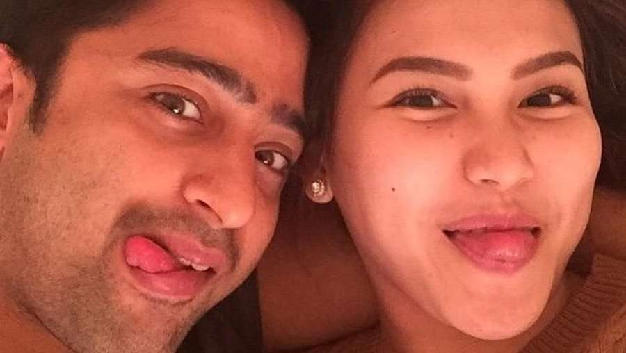 Wajah Happy Nadine Chandrawinata dan Dimas, Nikita Mirzani Gugat Cerai Dipo