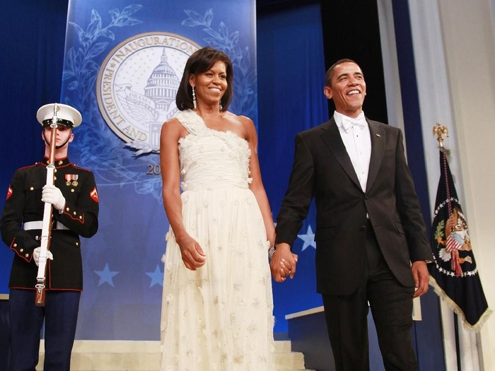 Michelle Obama bangun pagi setiap hari. Foto: Getty Images