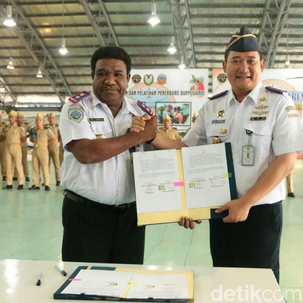 Taruna Penerbang Papua Barat dan Maluku Ini Siap Jadi Pilot Handal