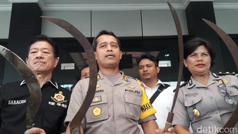 Polisi Ringkus 7 ABG yang Bacok Warga di Bekasi