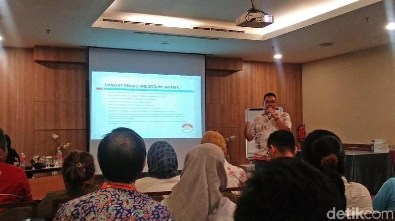 Wakil Ketua HPI DPD DKI Jakarta, Reyhan A Pattiwael (Randy/detikTravel)
