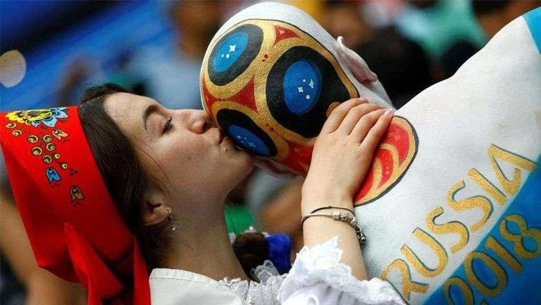 Rusia mendapat berkah pariwisata dari Piala Dunia 2018 (Reuters)