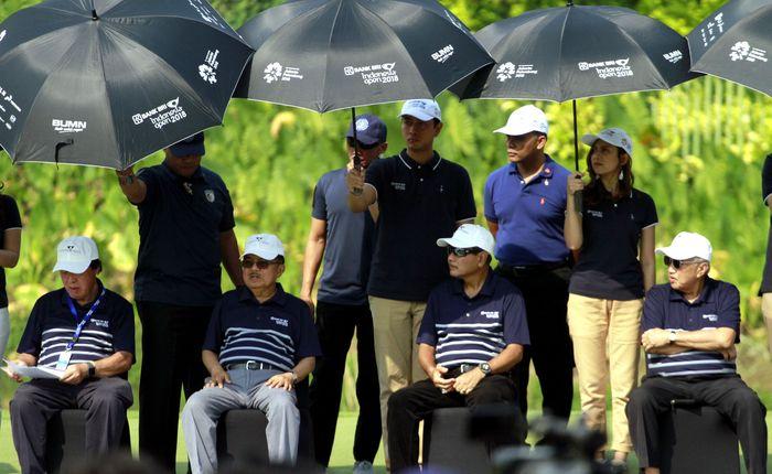 Ajang golf bertaraf Internasional ini dihadirkan sebagai ajang pemanasan dan persiapan dalam rangka menyambut event Asian Games 2018 pada Agustus mendatang. Foto: dok. BRI