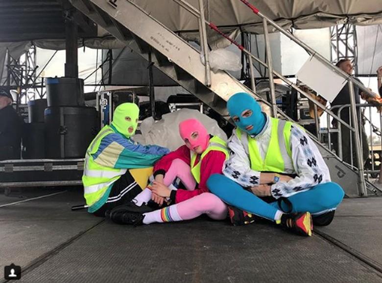 Pussy Riot. Foto: Dok. Instagram/wearepussyriot