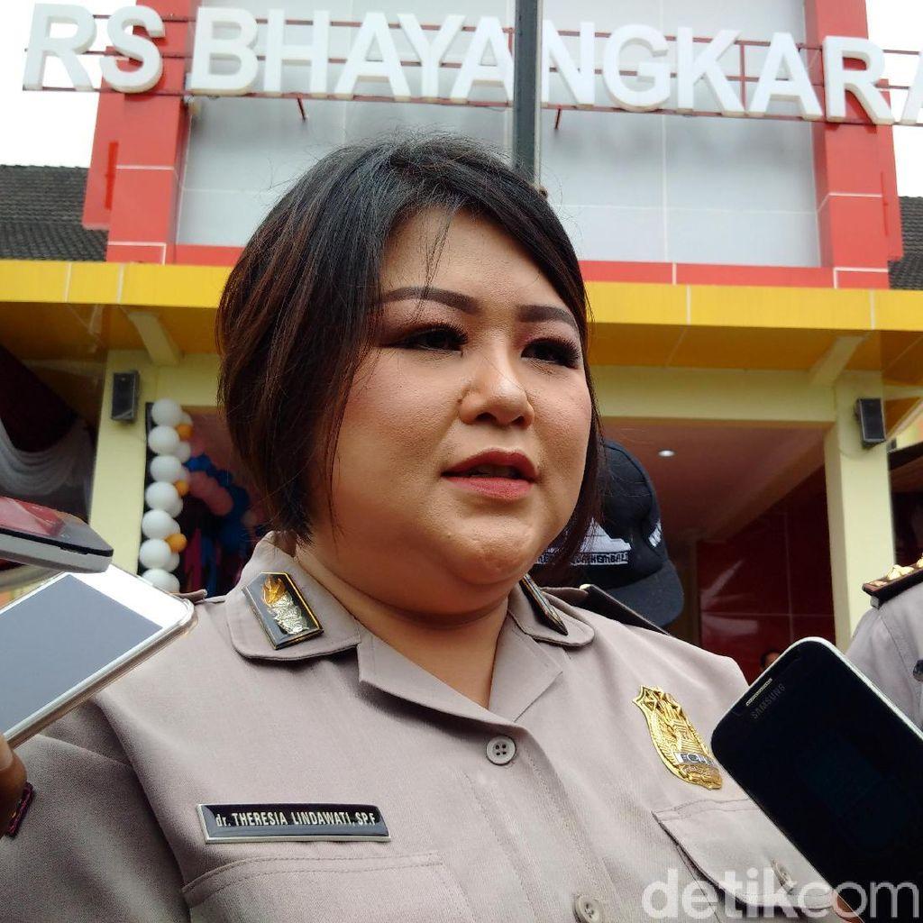 Jenazah 3 Terduga Teroris Jalan Kaliurang Masih di RS Bhayangkara