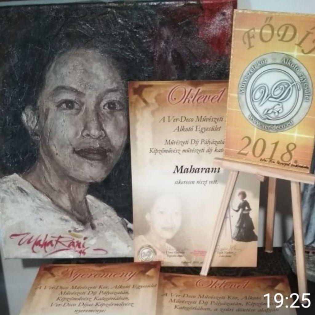 Pelukis Indonesia Juarai Lomba Lukis Internasional di Hungaria