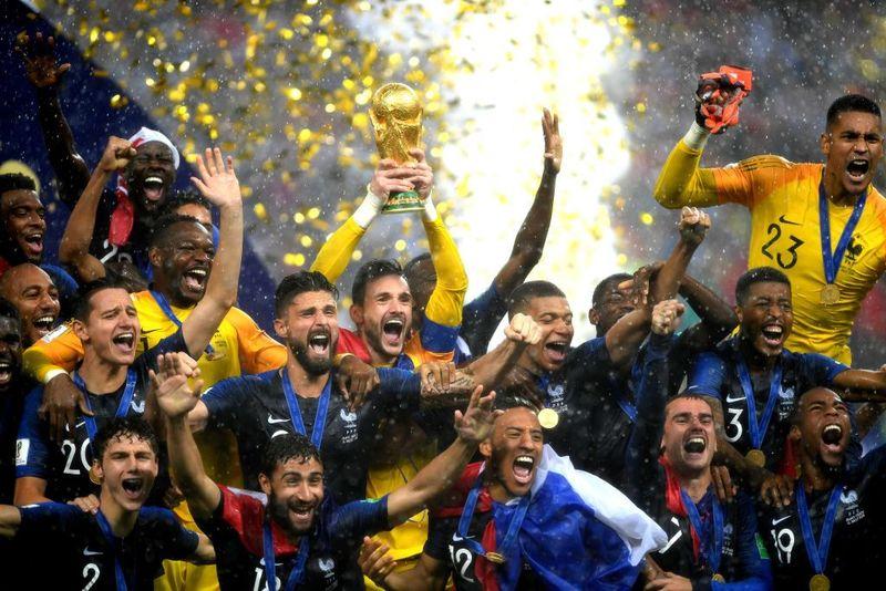 Prancis mengalahkan Kroasia 4-2 di final Piala Dunia 2018. Mereka pun kembali jadi juara setelah 20 tahun silam (Shaun Botterill/Getty Image)
