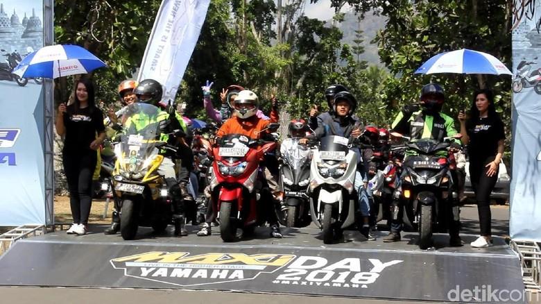 Yamaha Maxi Day di Magelang Foto: Pertiwi