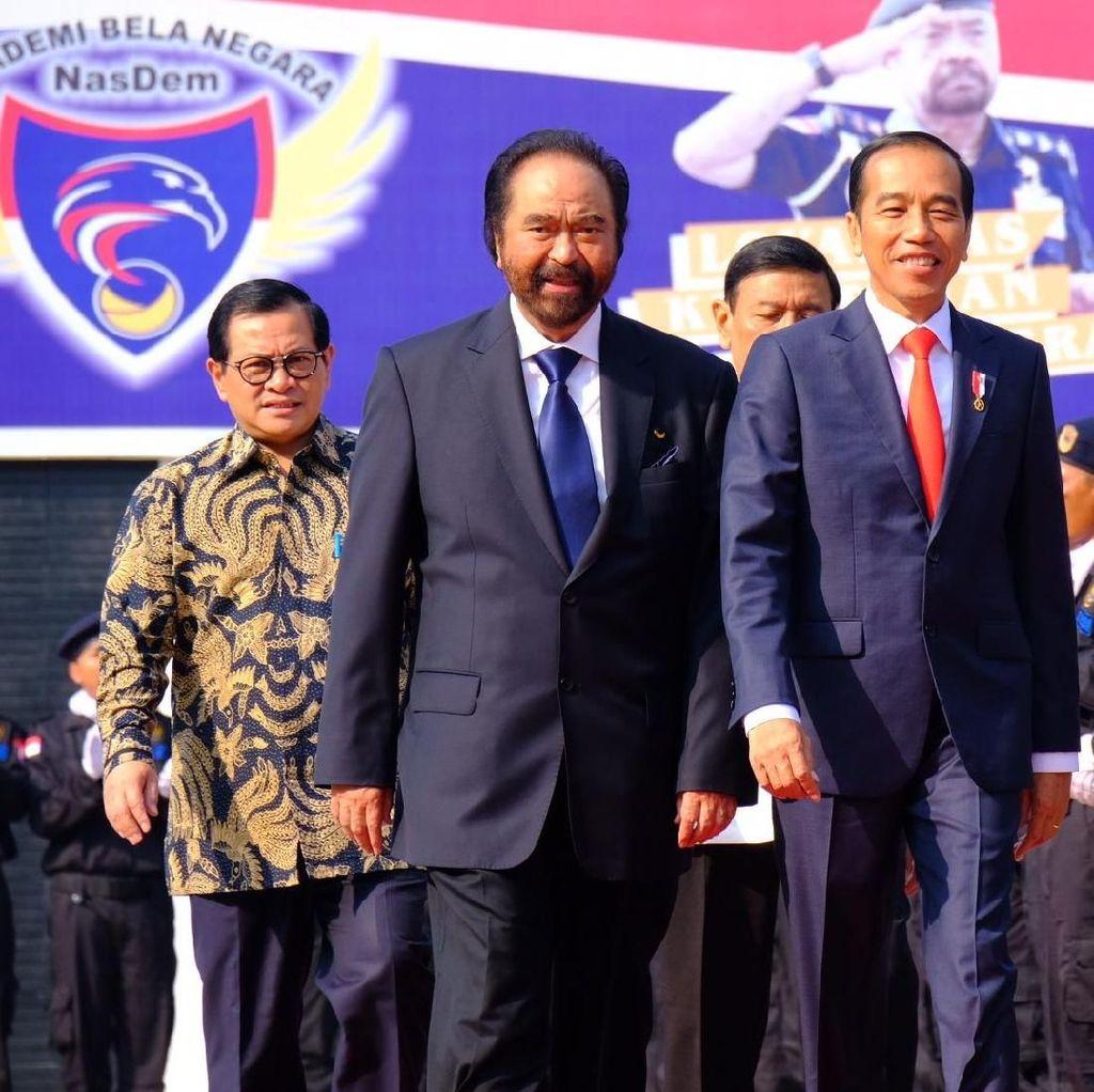Jokowi: Saya Hampir Setiap Hari Bertemu Ketum Parpol Bahas Pilpres