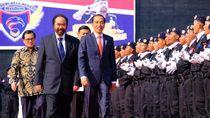 Jokowi-Airlangga-TGB-Mahfud Hadir Satu Acara, NasDem Beri Kode?