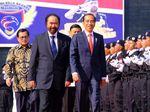 Jokowi Hadiri Kuliah Umum Akademi Bela Negara NasDem
