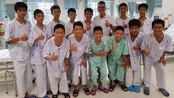 12 Remaja Akan Muncul Pertama Kali ke Publik, Thailand Menunggu