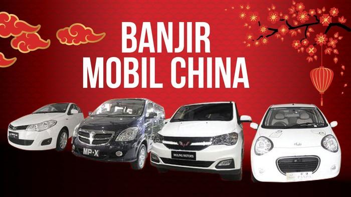 Fokus Banjir Mobil China