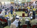Jemaah Haji Kloter Pertama Masuk Embarkasi, Jalani Rekam Biometrik