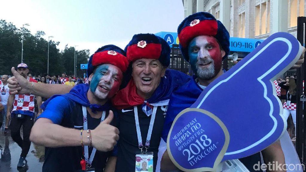 Kehebohan Fans Usai Final Piala Dunia 2018