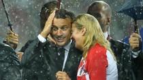 Kemesraan Presiden Kroasia-Presiden Prancis di Final Piala Dunia