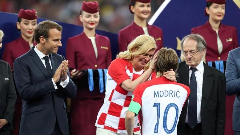 Kalah di Final Piala Dunia, Presiden Kroasia: Kami di Puncak Dunia
