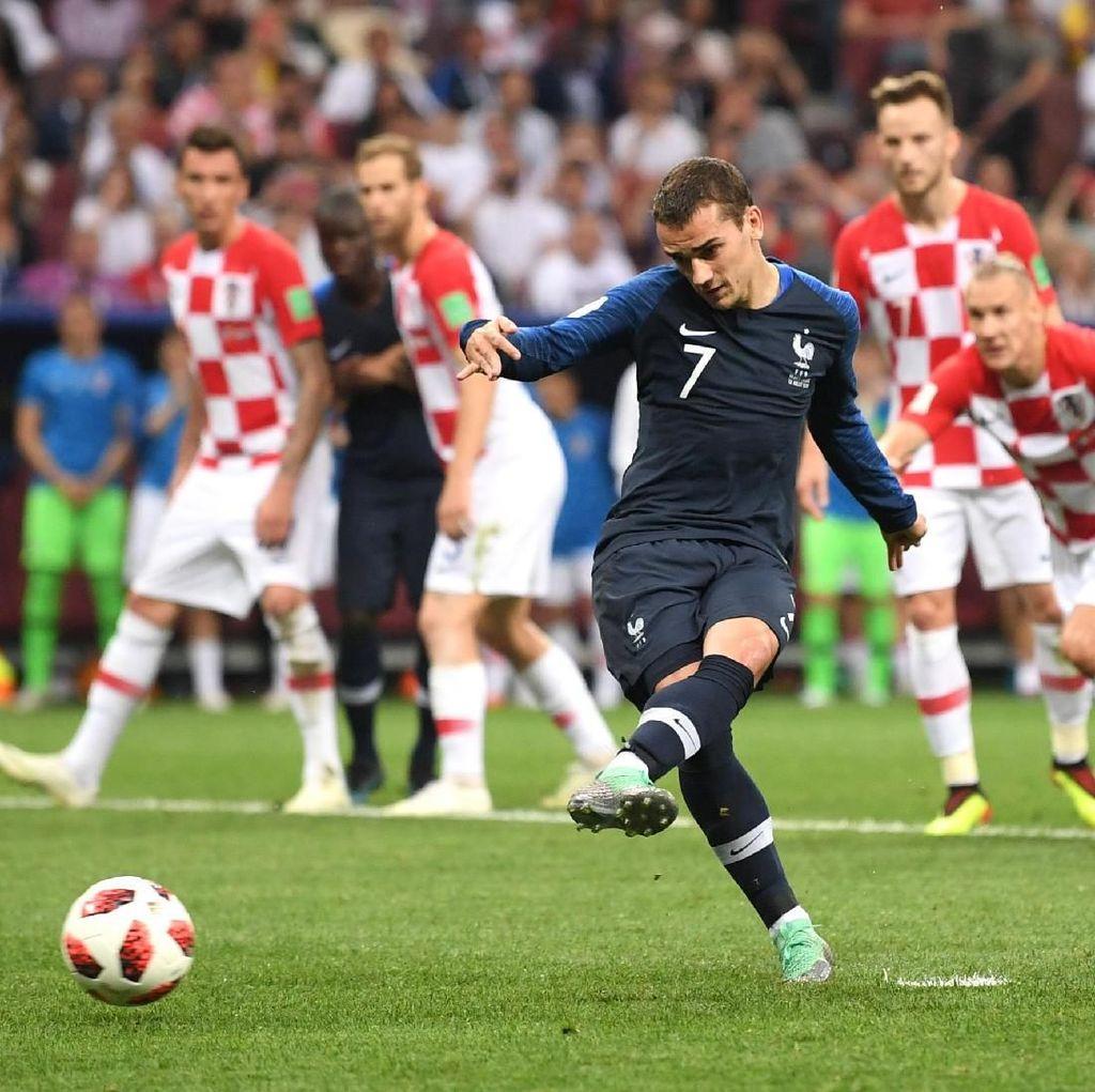 Penalti Griezmann Memukul Kroasia