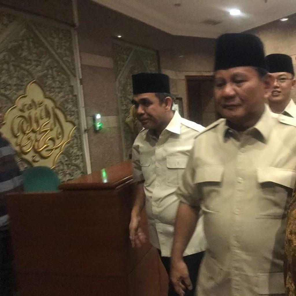 Prabowo: PBNU Institusi yang Sangat Penting dan Dipercaya Rakyat
