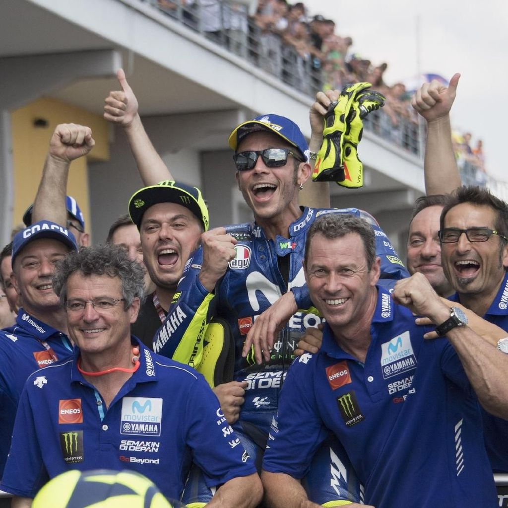 Rossi Masih Tunggu Perbaikan dari Yamaha
