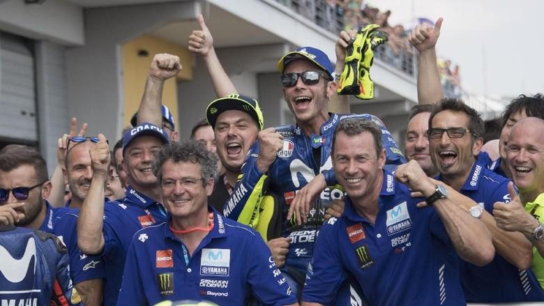 Rossi: Orang-Orang Yamaha Kabur Gara-gara Aku Terus Mengeluh