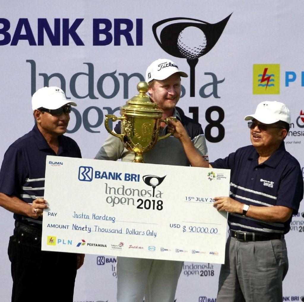JK Hadiri BRI Indonesia Golf Open 2018