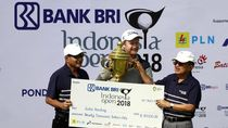 JK Hadiri BRI Indonesia Golf Open 2018